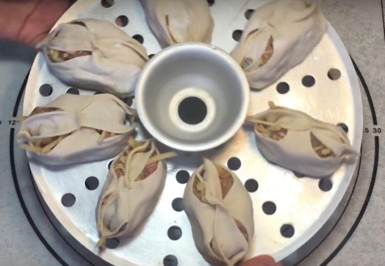 Манты с капустой – 5 быстрых рецептов приготовления вкусного блюда