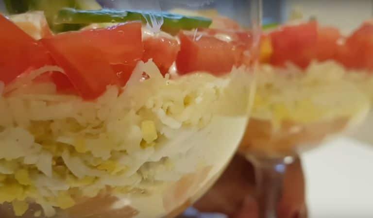 Салат с соленой горбушей – 7 очень вкусных рецептов приготовления