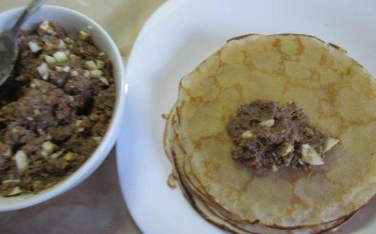 Блинчики с ливером – самые вкусные рецепты блинов, фаршированных ливером