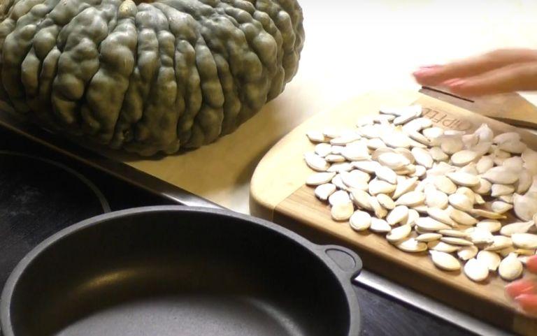 Как сушить тыквенные семечки в домашних условиях для еды?