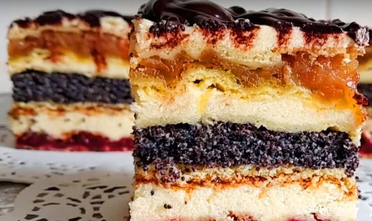 Маковник – 4 рецепта приготовления пирога в домашних условиях