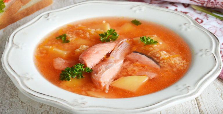 Уха из лосося: 6 рецептов супа из головы и хоста в домашних условиях