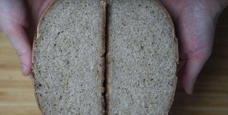 Ржаной хлеб в мультиварке redmond | 386x768