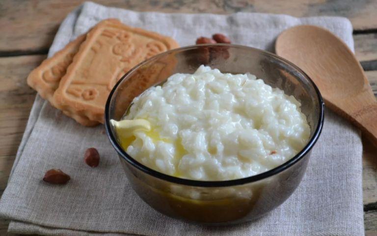 Рисовая каша на молоке - классические рецепты приготовления, как в детском саду
