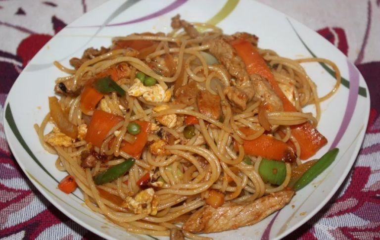 Рисовая лапша с овощами - простые и вкусные рецепты тайской кухни