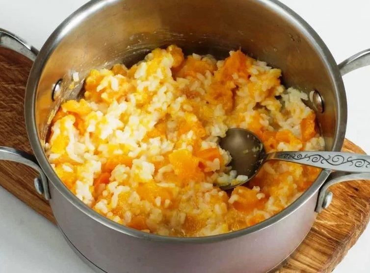 Рисовая каша с тыквой - простые рецепты приготовления на молоке и воде