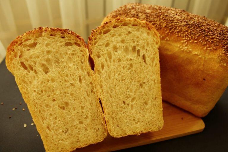 Домашний хлеб классический на опаре в духовке рецепт с фото пошагово и видео